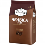 Кофе зерно Paulig Arabica Dark Roast 1кг пакет/1  16608