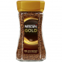 Кофе растворимый Nescafe Gold 190г ст/б/6
